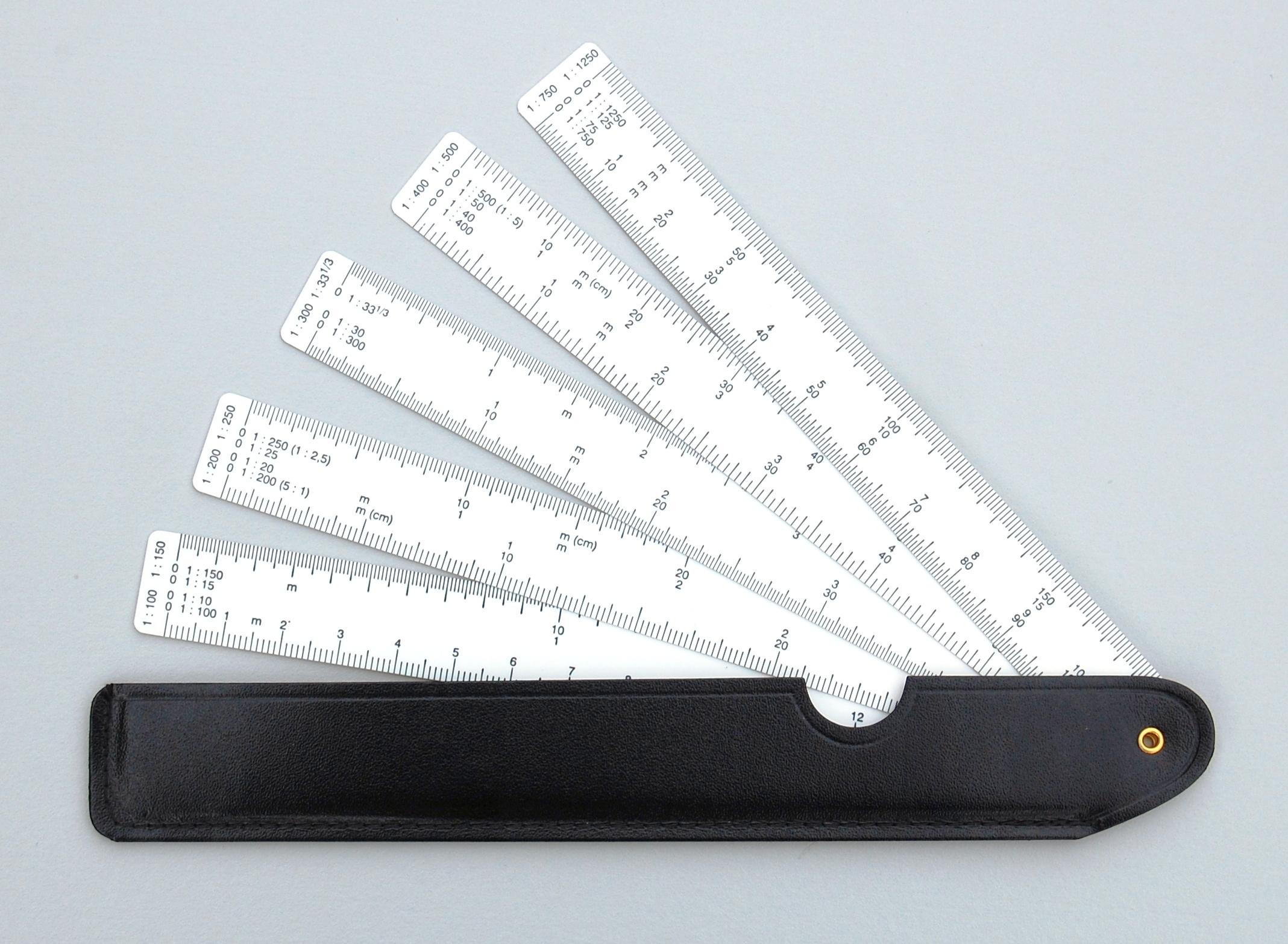 Blower scale, - Constructor Zeichentechnik